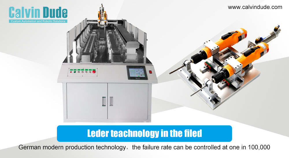 Choosing an automatic screw tightening machine for automation in the production process internal or external