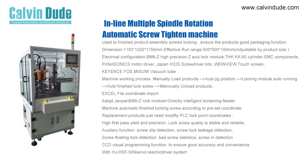 The features of a great pneumatic screw tightening machine with low price
