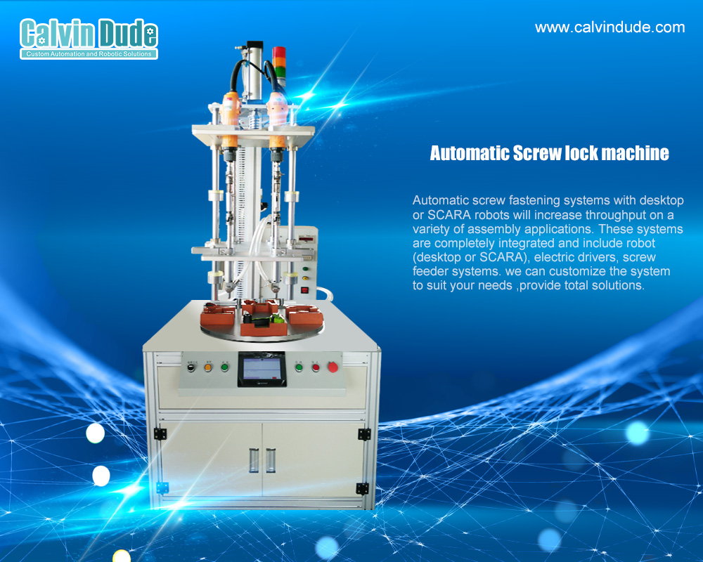 High quality automated screw driving system for screw fastening solutions