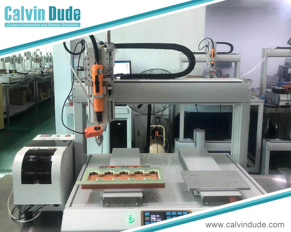 Uses of an Automatic Screw Feeder Machine And Automatic Feed Screwdriver System
