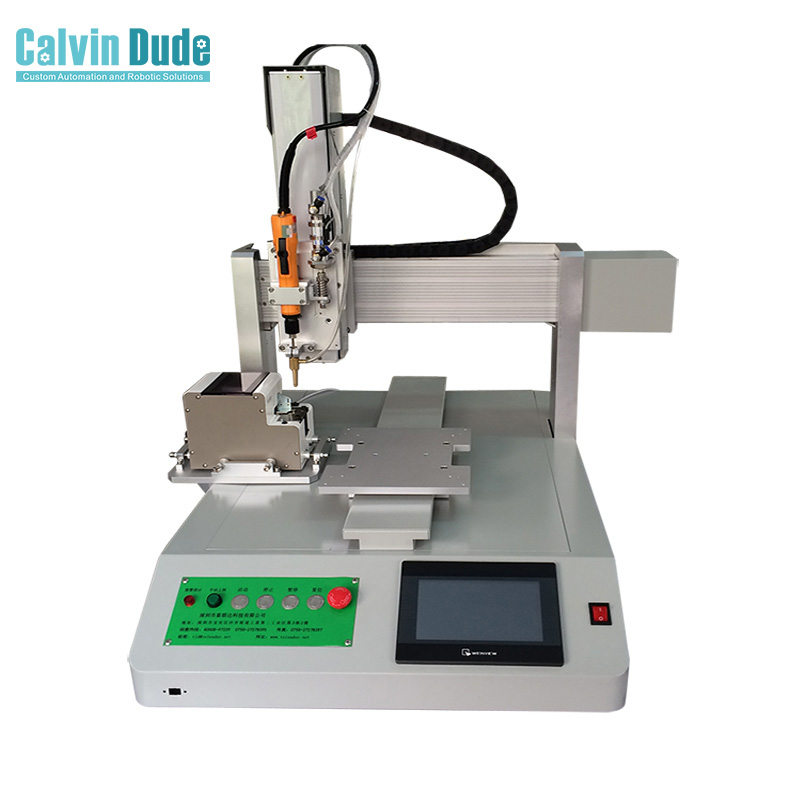 Single Bit Screw Locking Tightening Machine with Single Platform